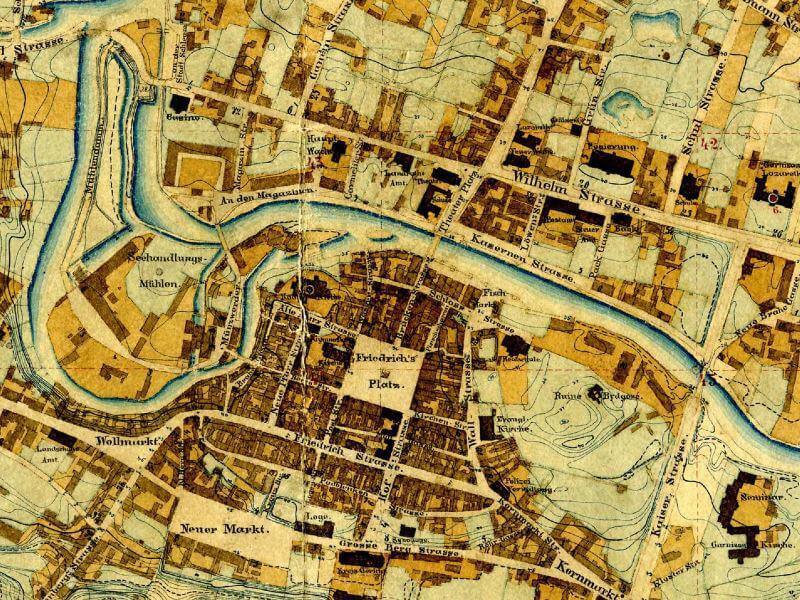 Plan Miasta Bydgoszczy z 1877r.