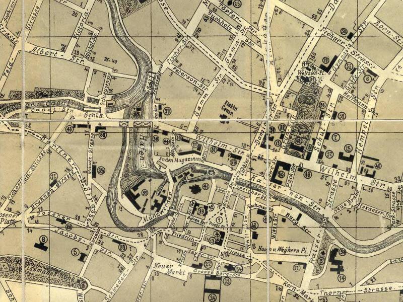 Plan Miasta Bydgoszczy z 1900r.
