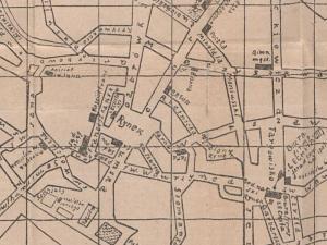Plan Miasta Gniezna z 1924r.