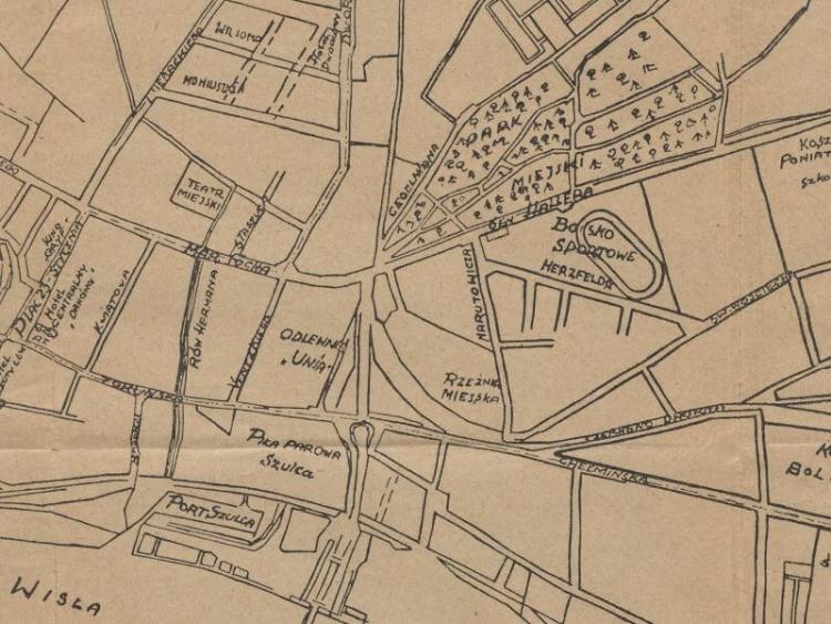 Plan Miasta Grudziądza z 1937r.