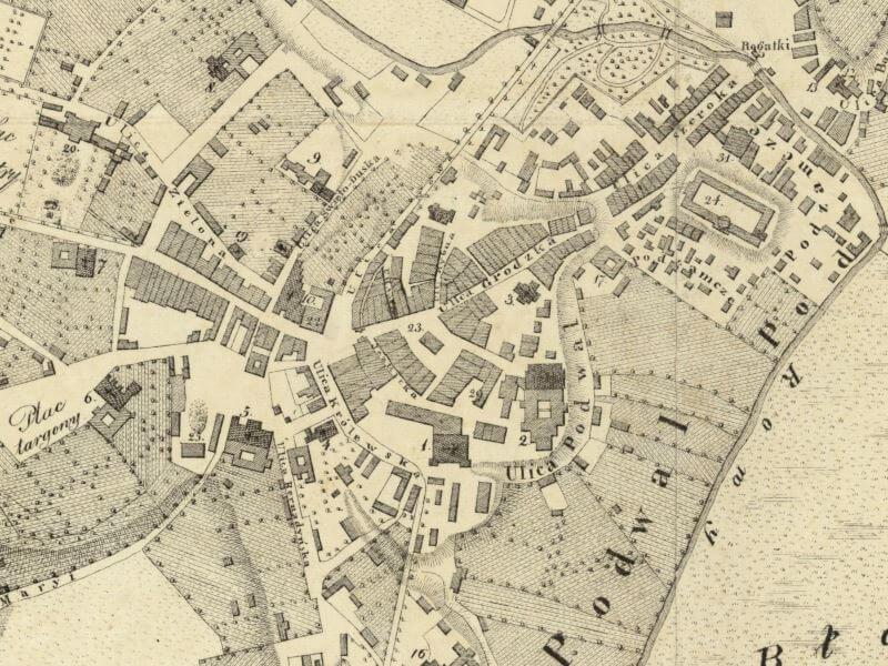 Plan Miasta Lublina z 1829r.