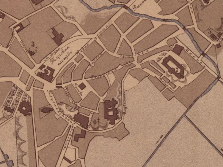 Plan Miasta Lublina z 1884r.