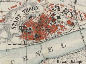 Plan Miasta Torunia z 1903r.