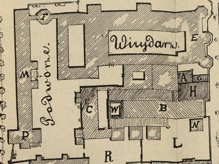 Plan Jasnej Góry z 1903r.
