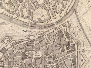 Plan Miasta Wiednia z 1844r.