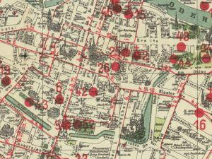 Plan Miasta Wrocławia z 1925r.