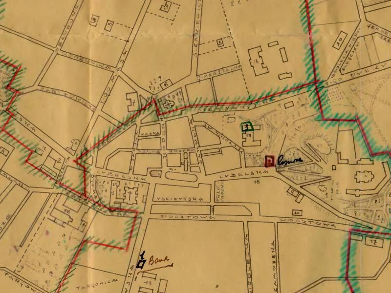 Plan Orientacyjny Chełma z 1933r.