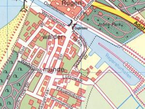 Plan Miasta Darłowa z 1939r.