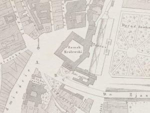 Plan Sytuacyjny Warszawy z 1862r.