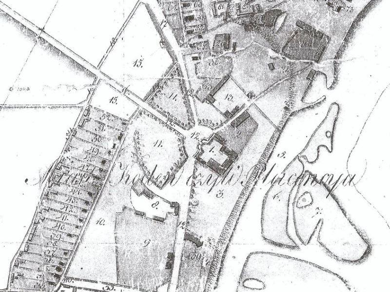 Plan Miasta Kodnia z 1826r.