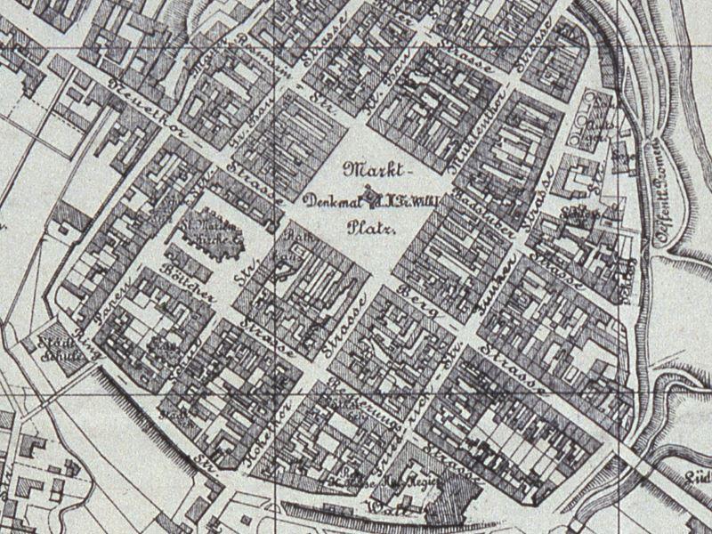 Plan Miasta Koszalina z 1900r.