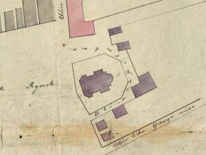 Plan Sytuacyjny Kodnia z 1840r.