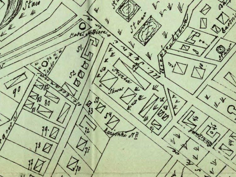 Plan Miasta Ciechocinka z 1891r.