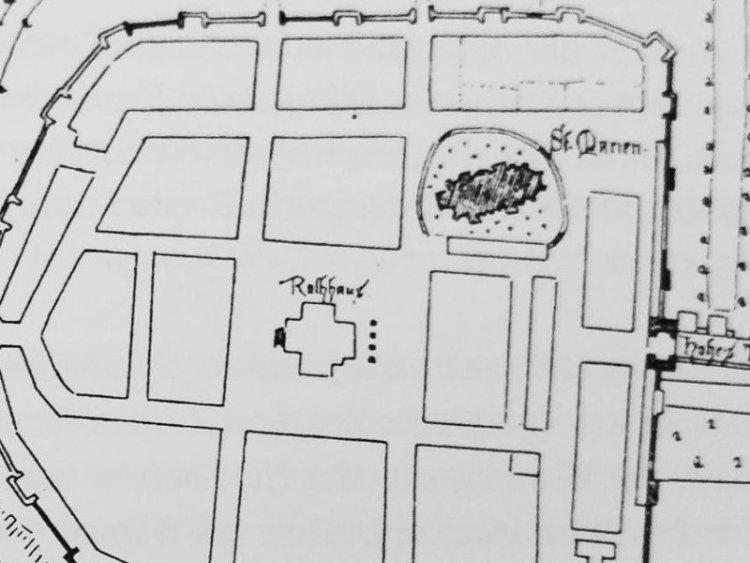 Plan Miasta Białogardu z 1765r.