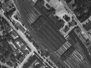 Zdjęcie lotnicze Wrocławia z 1944r.