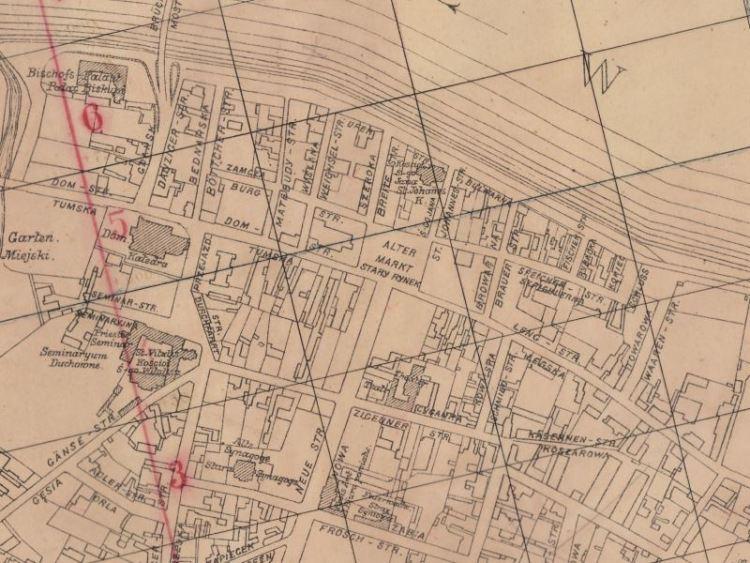 Plan Miasta Włocławka z 1915r.
