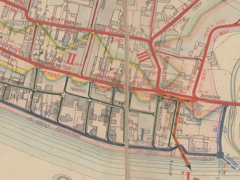Plan Miasta Włocławka z 1912r.