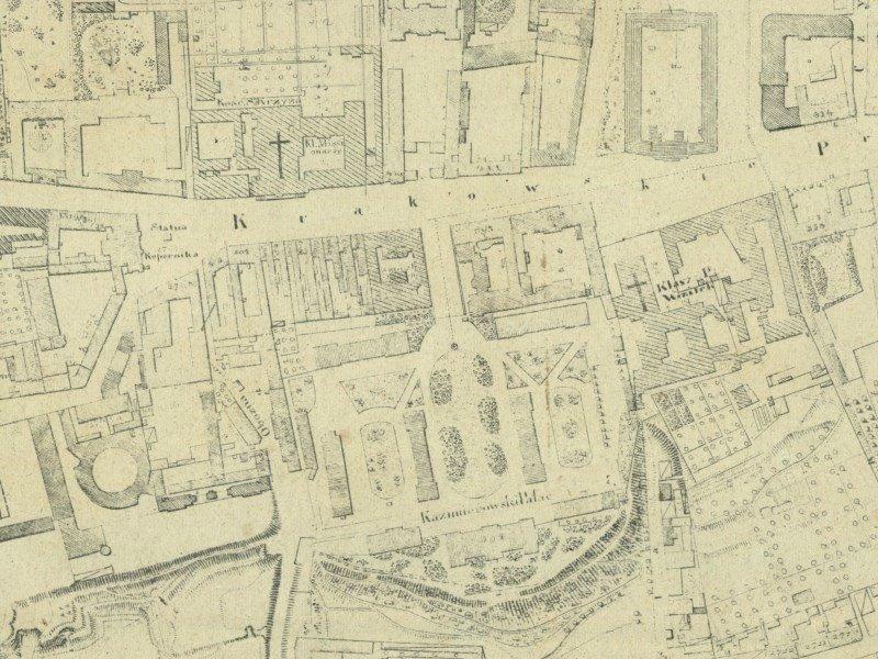 Plan Miasta Warszawy z 1859r.