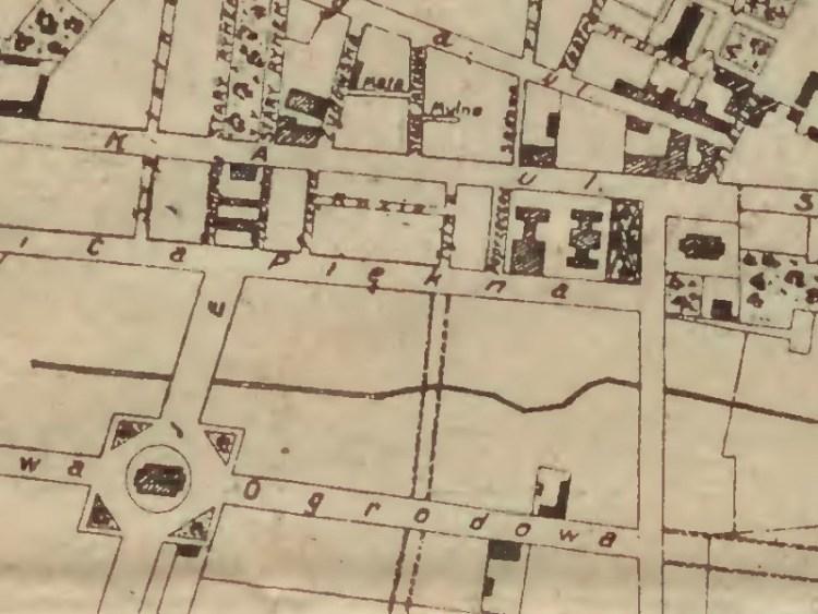 Plan Miasta Siedlec z 1912r.