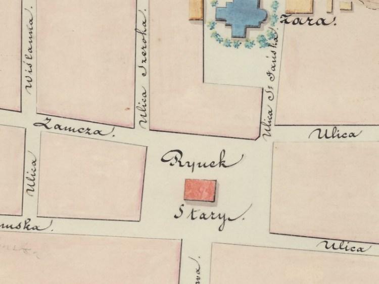 Plan Miasta Włocławka z 1843r.