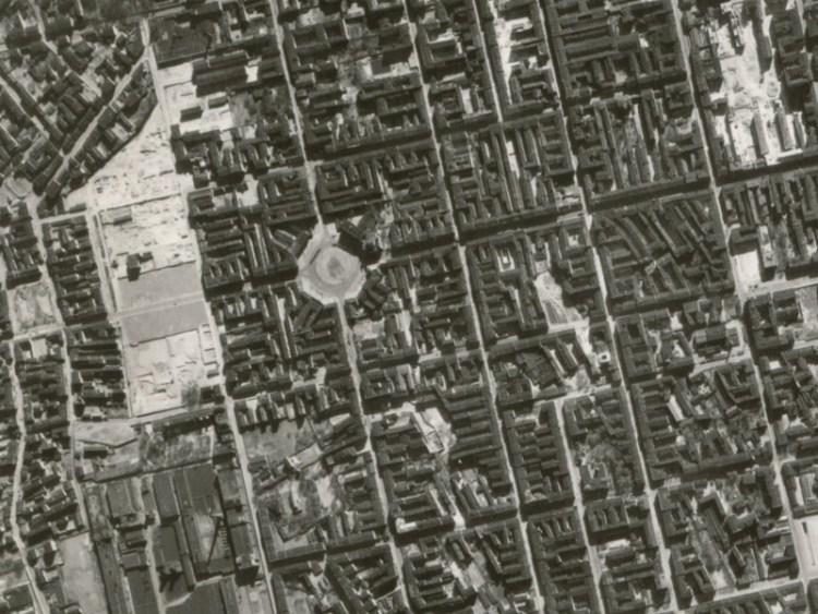Zdjęcie lotnicze Łodzi z 1942r. (07)