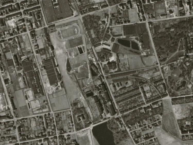 Zdjęcie lotnicze Łodzi z 1942r. (12)