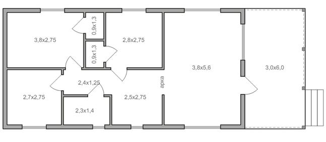 منزل من طابق واحد 6 إلى 12 مخطط منازل من طابق واحد ماذا تختار