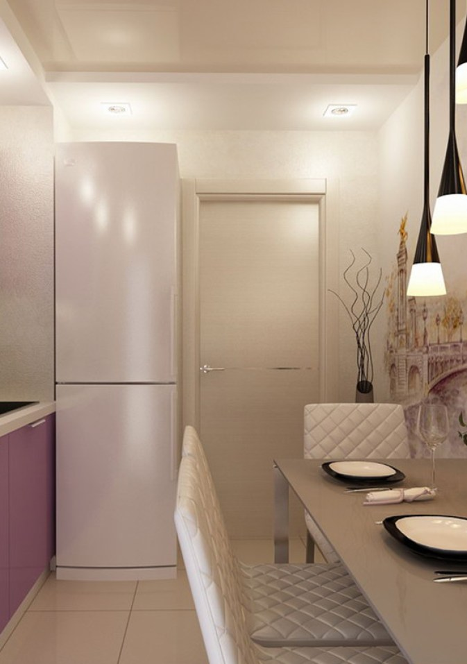 дизайн кухни 9 кв м в панельном доме 5