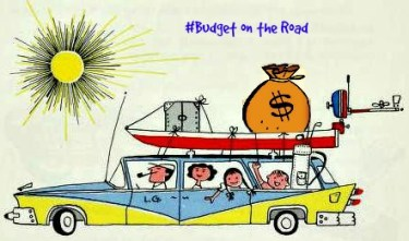 Budget on the road