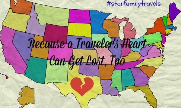 Because a Traveler's Heart Can Get Lost, Too