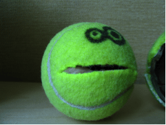 tennis ball monster