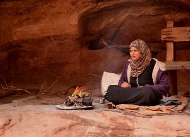Local Bedouin woman, Petra