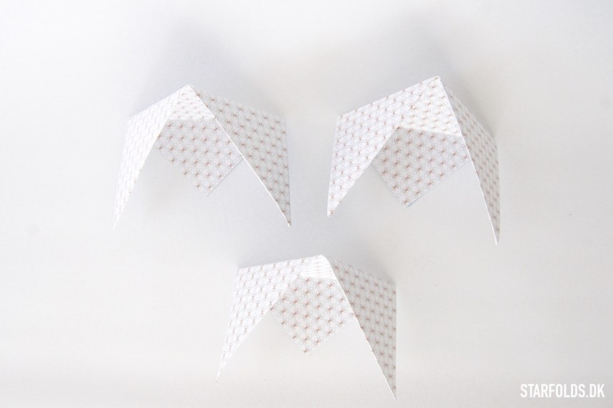 Trin 4 DIY geometriske æsker i papir