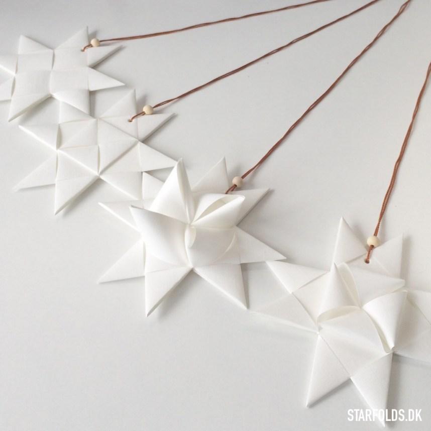 DIY flet julestjerner i fem varianter