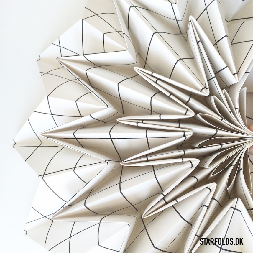 DIY lampe foldeteknik