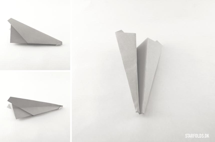 DIY papirfly trin 4.1