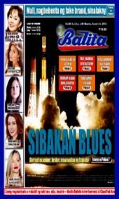 COVER - Balita Aug 6 2013