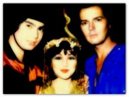 MEMORABILIA - Vilma with Junior and Lyod Samartino circa 1980s