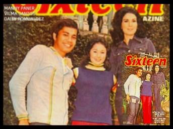 MEMORABILIA - Vi with Manny Paner and Daisy Romualdez
