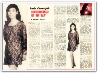 MEMORABILIA - Inday Badiday Kislap 24 July 1970