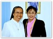 MEMORABILIA - Vi with nuns at St Marys 2