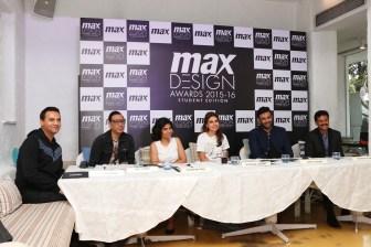 Jury Members - (L-R) Marc Robinson, Troy Costa, Kamakshi Kaul, Monisha Jaisingh, Nikhil Thampi, Vasanth Kumer