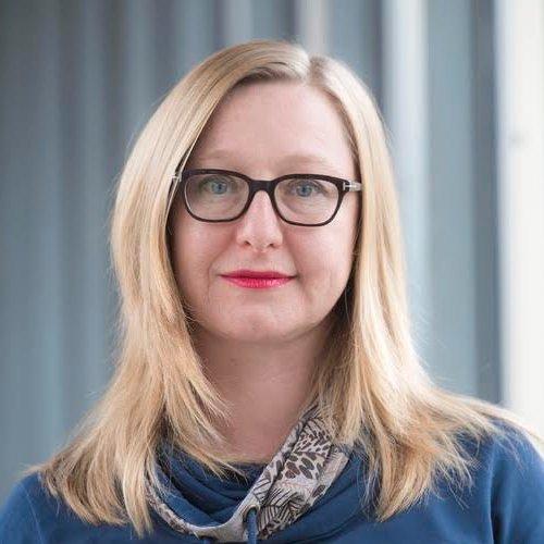 Festival director Anja Dirk