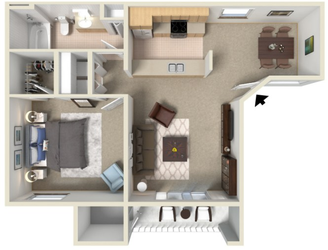 1 Bedroom Apartments For Tucson Stargate West