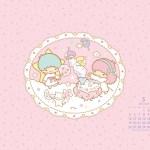 受保護的內容: Little Twin Stars Wallpaper 2014 五月桌布 日本官方月曆