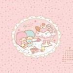 受保護的內容: Little Twin Stars Wallpaper 2014 九月桌布 日本官方月曆