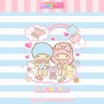 受保護的內容: Little Twin Stars Wallpaper 2013 七月桌布 日本 SanrioBB Present