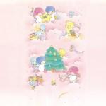 受保護的內容: Little Twin Stars Wallpaper 2014 十二月桌布 日本草莓新聞