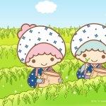 受保護的內容: Little Twin Stars Wallpaper 2017 五月桌布 日本官方Twitter票選採茶版