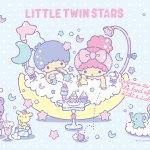 受保護的內容: Little Twin Stars Wallpaper 2018 七月桌布 日本官方Twitter風呂版